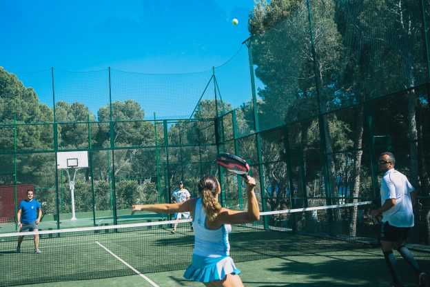 tournoi de tennis paddle