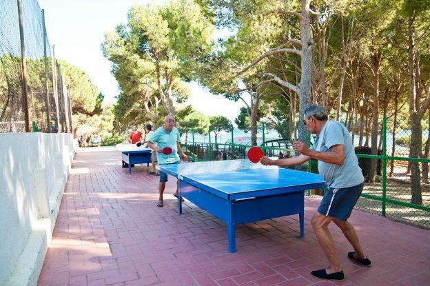 Ping pong Cala Montjoi