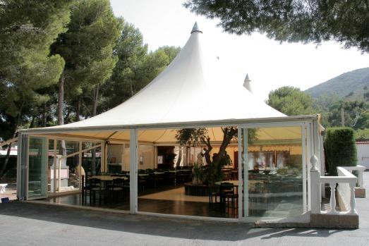 Tent Cala Montjoi