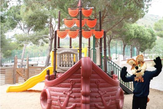 Parque Infantil Cala Montjoi