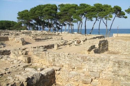 Ruinas de Empuries Costa Brava