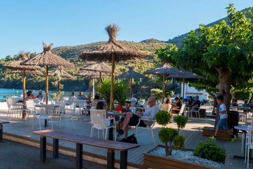 Terrasse Bar Cala Montjoi