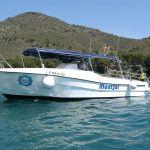 Barco Centro de Submarinismo Cala Montjoi Cap de Creus