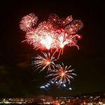 fuegos artificiales Fiesta Mayor Rosas